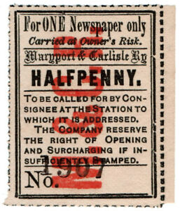 I-B-Maryport-amp-Carlisle-Railway-Newspaper-Parcel-d