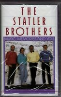 The Statler Brothers...music, Memories And You......brand Country Cassette