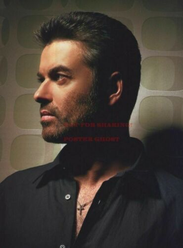 1 GEORGE MICHAEL 90/'s Nineties Art Photo Poster 24 inch X 36 inch