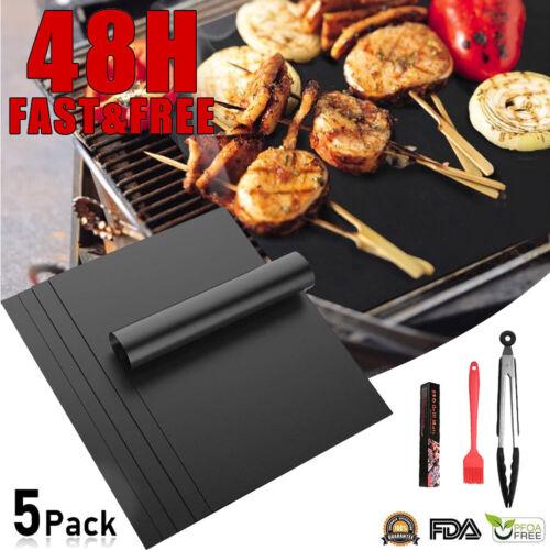 BBQ Grillmatte 8er Extra Dick Backmatte mit Grillwerkzeug Für Gasgrill Holzkohle