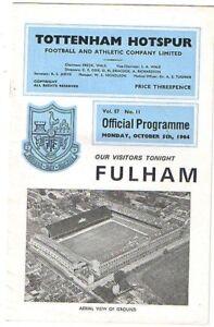 Tottenham-Hotspur-v-Fulham-1964-5-5-Oct