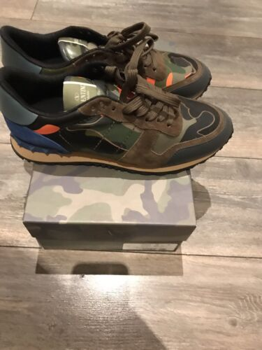 Runner Army 8 Eu Rockstud Valentino Green Uk 42 In R65gBPwx