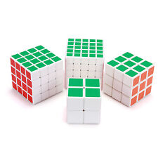 Set of 2x2x2 3x3x3 4x4x4 5x5x5Magic Cube Frosted surface White bottom rubik Cube