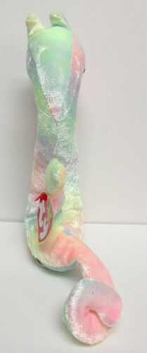 Ty Beanie Baby Neon Pastel Tie-Dyed Sea Horse Brand New PRISTINE w//Mint Tags