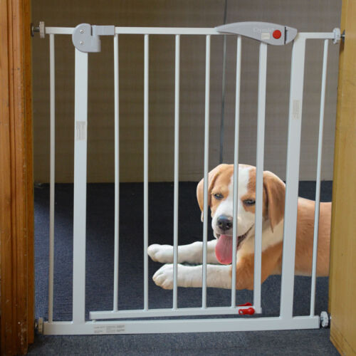 Home Baby Safety Gate Pet Dog Barrier Stair Doorway Safe Secure Guard 70x76cm