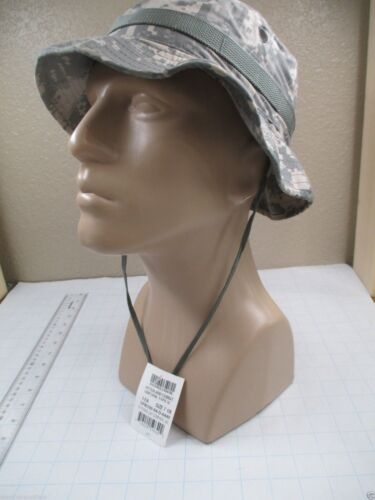 USGI Cap Size 7 1//8 ACU Digital Camo Boonie//Sun//Hot Weather//Jungle Hat Army NWT!