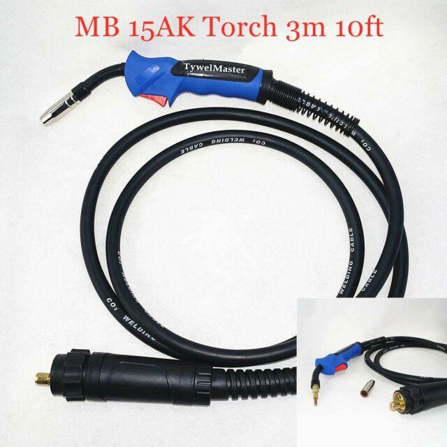 14AK Welding Gun Torch Euro Connector 2m Cable For MIG MAG Welding Gun