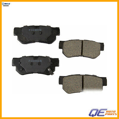 Rear D813 Ceramic Brake Pads FOR 2006 2007 2008 HYUNDAI SONATA V6 3.3L