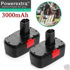 2 Pack 3.0Ah 19.2V Battery for Craftsman C3 11375 11376 130279005 Cordless Drill