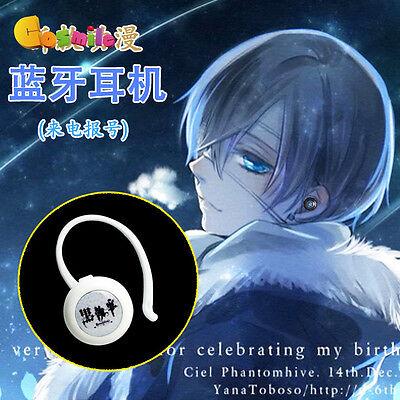 Anime Black Butler 2 Kuroshitsuji Ciel Phantomhive Bluetooth Headset Wireless