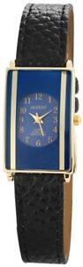 Akzent-Damenuhr-Blau-Schwarz-Gold-Analog-Kunst-Leder-Armbanduhr-XSS8903000003