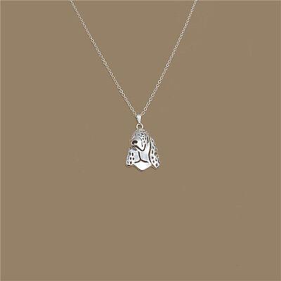 Siberian Husky Pendant Necklace Silver Tone ANIMAL RESCUE DONATION