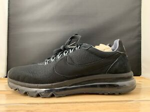 best loved 24af0 d7db3 Image is loading Men-s-Nike-Air-Max-LD-ZERO-Black-