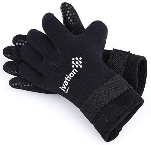 3mm Diving Gloves Premium Neoprene Five Finger Snorkel Swimming Wetsuit Gloves