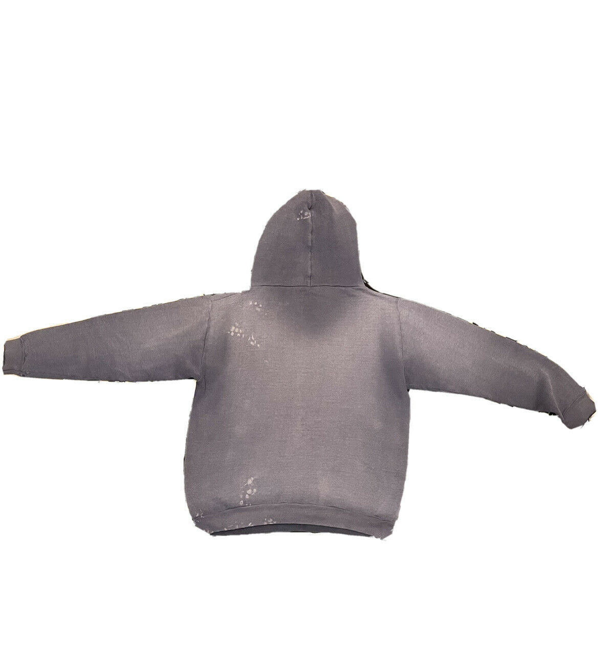 VTG 70s Sun Faded Russell Gold Tag M Hoodie Sweat… - image 2