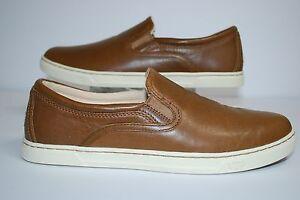 Ugg Fierce Chestnut Leather Women Sneaker 1015460 Ebay