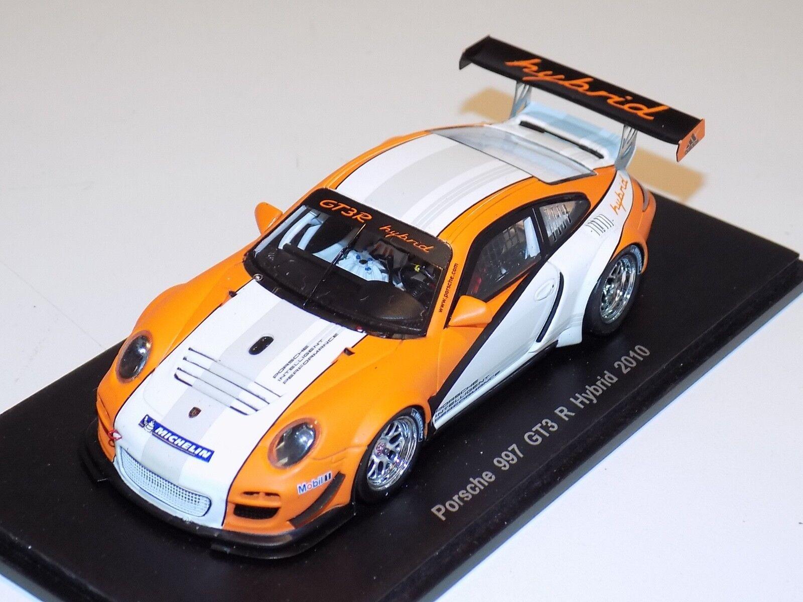 1 43 Spark Spark Spark Porsche 911   997   GT3 R Hybrid Presentation 2010  S2088 609f06