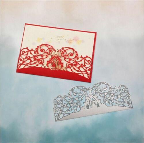 Stanzschablone Rasenplatz Hochzeit Geburtstag Oster Weihnachten Karte Album DIY