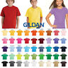 GILDAN PLAIN YOUTH TSHIRT BLANK YOUTH UNISEX WHOLESALE COTTON T-SHIRT TEE