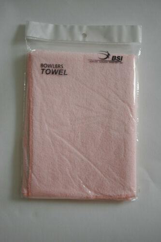 New 2 BSI Microfiber Bowling Towel PINK w free ship in USA $9.95