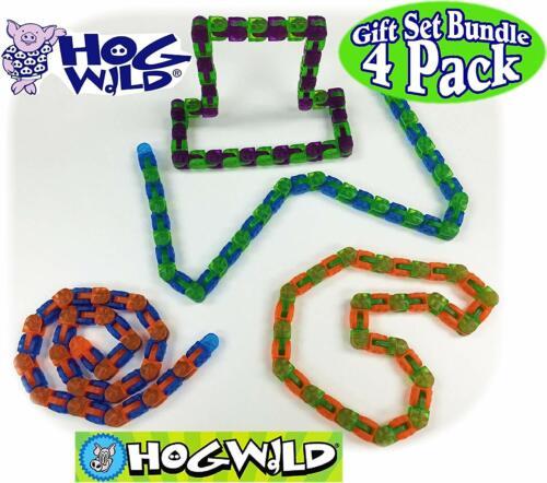 Hog Wild Klixx Long 4 Pack 40 Link-Translucide Cliquez sur /'n Bangers Widget