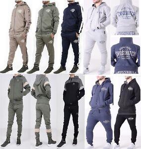 officiel trouver le travail grande variété de modèles Détails sur Nouveau Homme Crosshatch Complet Survêtement Jogger Jogging  Polaire Pantalon Pantalon Gym S-XL- afficher le titre d'origine