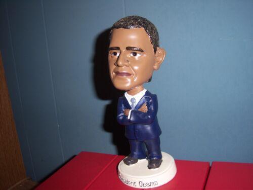President BARACK OBAMA Blue Suit Bobble Head Figure New In Box