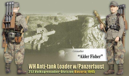 Drachen im zweiten weltkrieg 1   6 - skala 12  deutsche anti - panzer - grenadier - erle fisher 70756