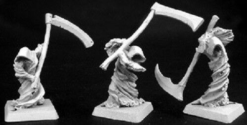Wraith Harvesters Necropolis Reaper Miniatures Warlord D&D Dungeon Wargames RPG