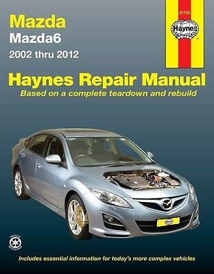 Haynes Repair Manual Mazda 6 2002 2018, Mazda 6 Gy Wiring Diagram Pdf