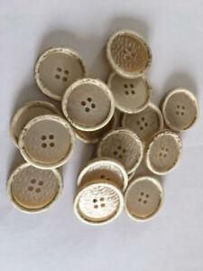 30-sehr-schoene-Knoepfe-beige-natur-25mm