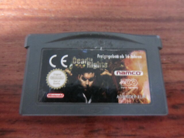 DEAD TO RIGHTS              -----   pour GAME BOY ADVANCE