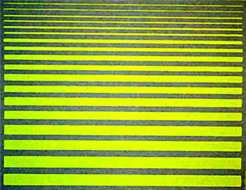Zierstreifen Streifen rot Friezes Strips red 1:32 Decal Abziehbilder