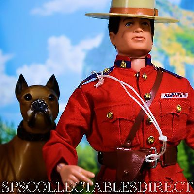 ☆ VAM Palitoy Action Man ☆ Canadian Mounted Police & Dog ☆ c1964 Complete VGC ☆