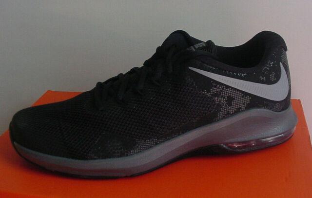 Nike Men's Air Max Alpha Trainer Shoe BlackGrayMtlc AA7060 005 11.5 12 NIB