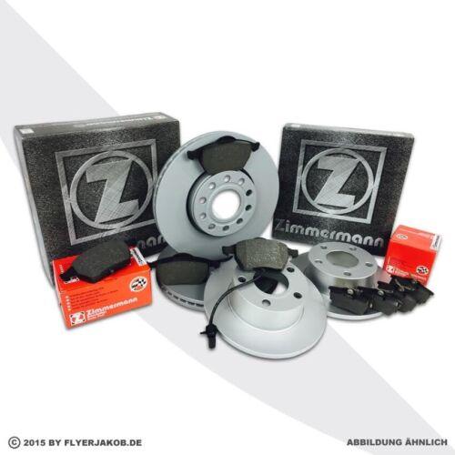 hinten Scheiben Zimmermann Bremsenset vorne Beläge Hyundai Sonata V Tucson