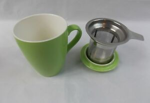 Adagio-Porcelain-Tea-Cup-Mug-With-Stainless-Steel-Infuser-Grasshopper-12oz