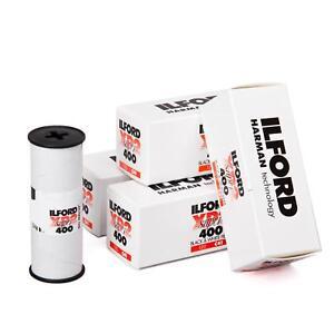 5x-Ilford-XP2-400-120-S-W-Rouleau-de-Film-Analogfilm-Noir-Film-Blanc