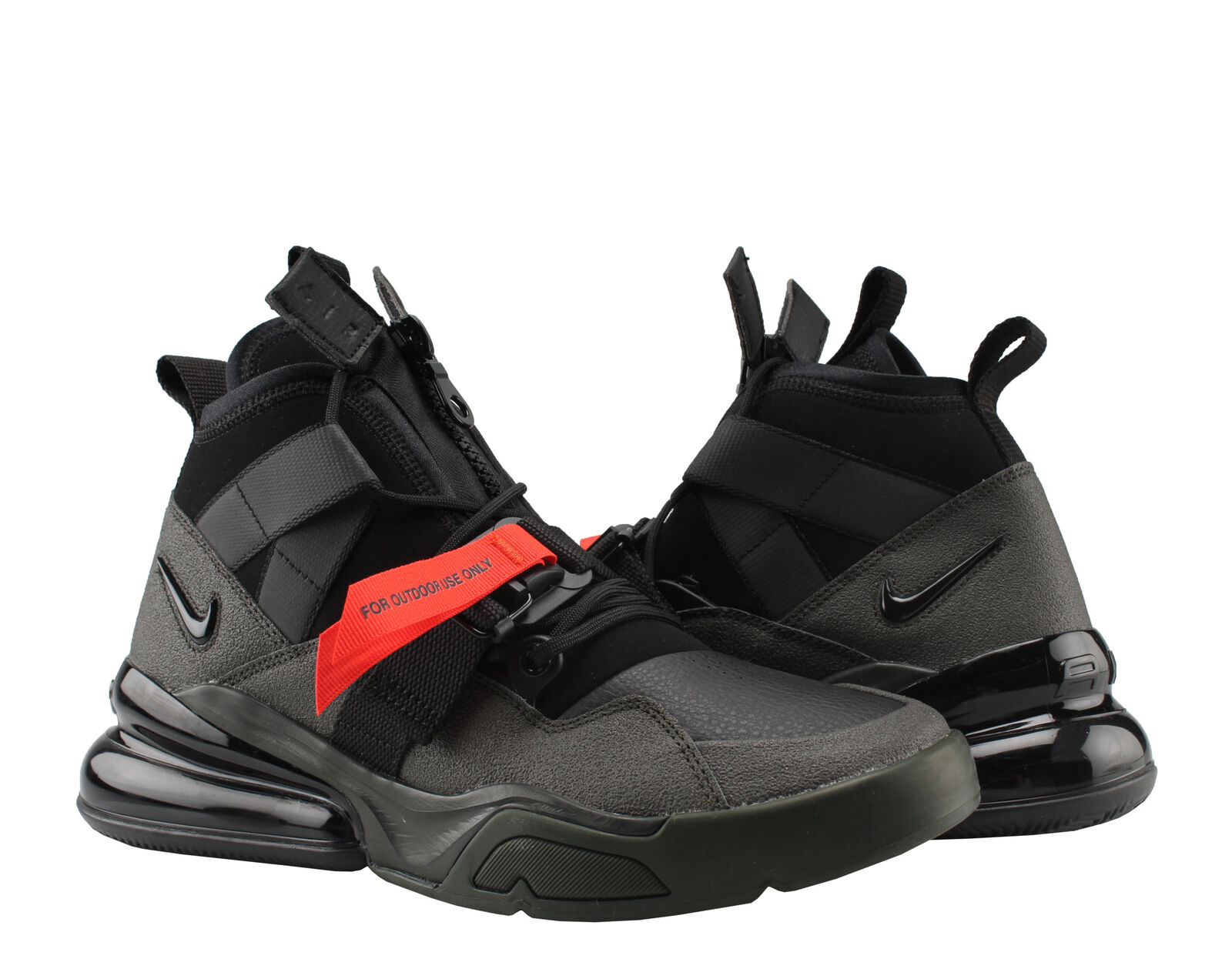 Nike Air Force 270 Utility Sequoia Black-Red Men's Lifestyle shoes AQ0572-300