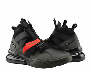 buy popular 1ff56 06d14 Image is loading Nike-Air-Force-270-Utility-Sequoia-Black-Red-