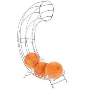 Details about Porte Fruits Distributor Basket Slide Stainless Steel Sliding  Orange Holder Rack