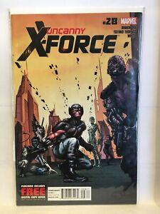 Uncanny-X-Force-Vol-1-28-VF-NM-1st-Print-Marvel-Comics