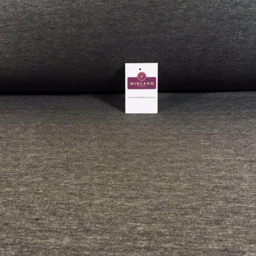 "Gris en coton léger stretch robe tissu 38/"" M720-61 Mtex"