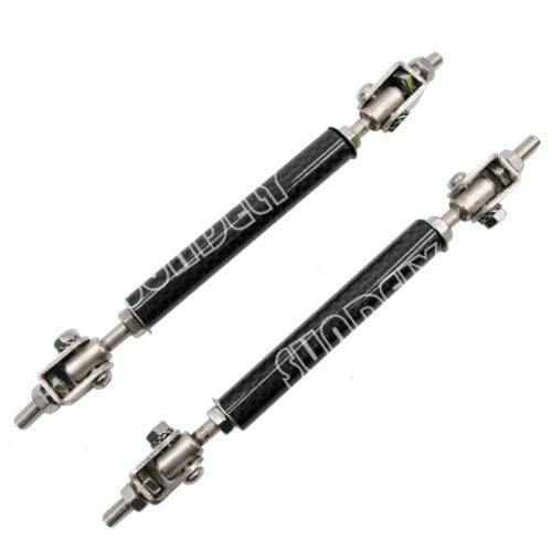 4.5-8 Inch Carbon Fiber Front Rear Frame Rod Splitter Strut Tie Bars NEW