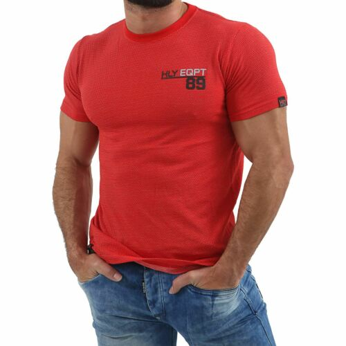 New HLY Mens Designer T Shirt Short Sleeve Printed Casual Summer Fashion Tee Top