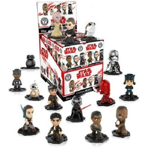 NEW Set of 12 Funko  Mystery Mini Blind Boxes STAR WARS Unopened Bobble Heads
