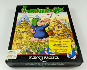 Lemmings-by-Psygnosis-Commodore-Amiga-Spiel-Big-Box-OVP-VGC-CIB-Sammlerzustand