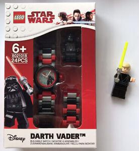 LEGO-Star-Wars-Darth-Vader-Figurine-LINK-WATCH-avec-Luke-Skywalker-version