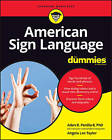 American Sign Language For Dummies by Adan R. Penilla, Angela Lee Taylor (Mixed media product, 2016)