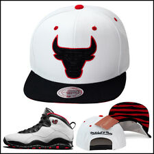 "Mitchell & Ness Chicago Bulls Snapback Hat For Jordan 10 X Retro ""Chicago 45"""